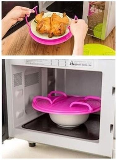 She Berrak She Berrak Katlanabilir Buzdolabı/ Mikrodalga Rafı Renksiz